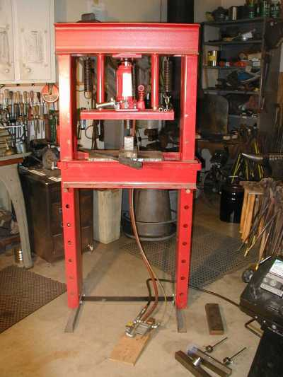 20 Ton Air Over Hydraulic Press