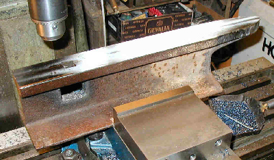 Anvils Made From Sections Of Railroad Rail