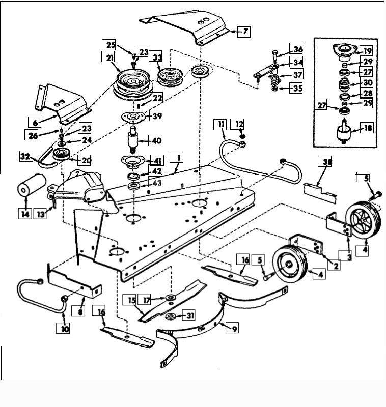 Diagram Scag Pto Deck Wiring Diagram Diagram Schematic Circuit Ellis