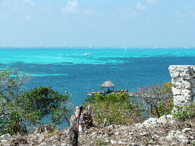 Isla Mujeres Looking West