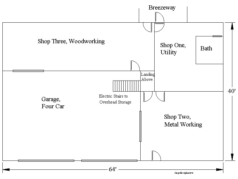 Auto shop layout best layout room for Shop floor plans